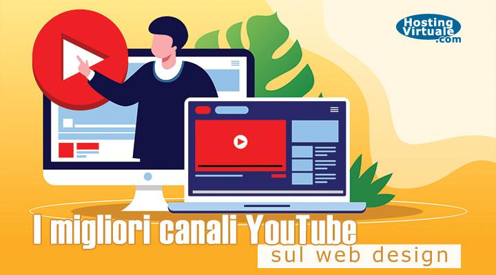I migliori canali YouTube sul web design