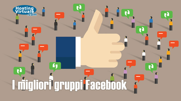 I migliori gruppi Facebook