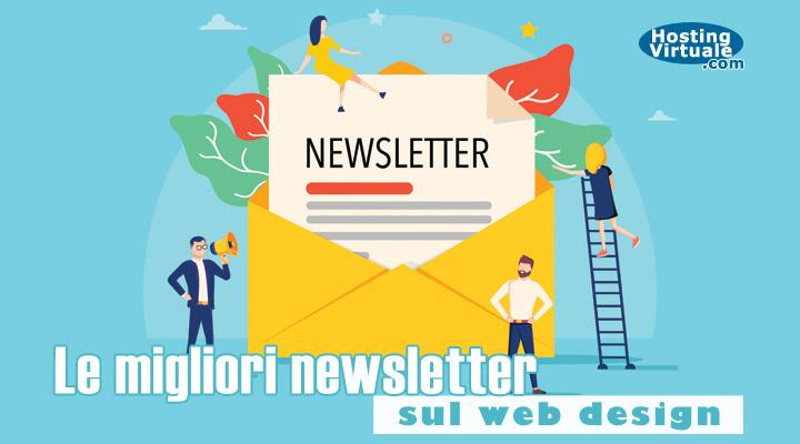 Le migliori newsletter sul web design