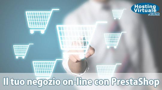 Il tuo negozio on-line con PrestaShop