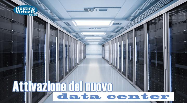 Attivazione del nuovo data center
