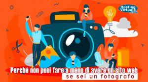 Perché non puoi fare a meno di avere un sito web se sei un fotografo