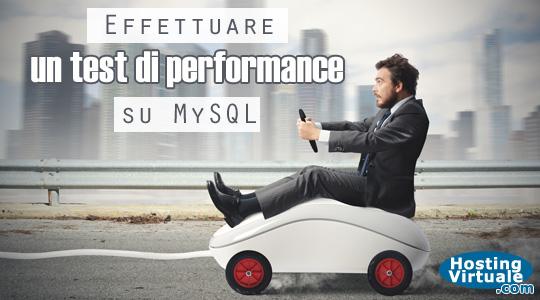 Effettuare un test di performance su MySQL