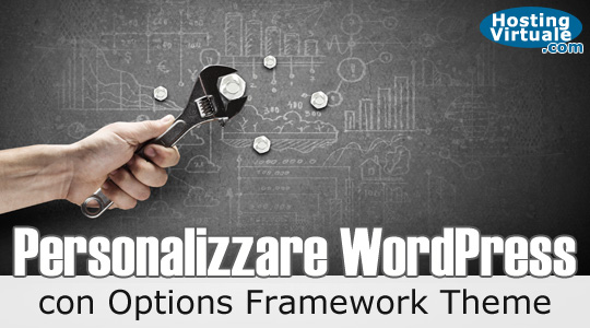 Personalizzare WordPress con Options Framework Theme