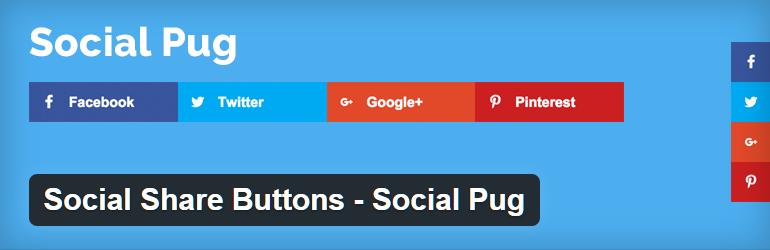 plugin condivisione social | plugin wordpress | socialpug