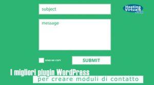 I migliori plugin WordPress per creare moduli di contatto