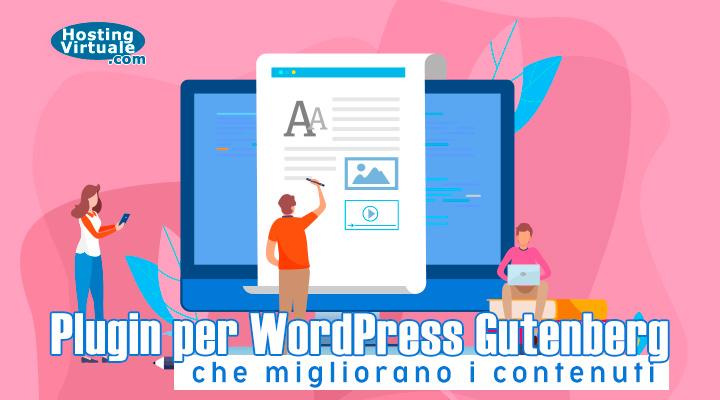 Plugin per WordPress Gutenberg che migliorano i contenuti