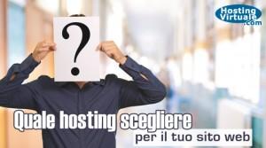 Quale hosting scegliere per il tuo sito web