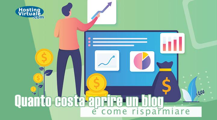 Quanto costa aprire un blog e come risparmiare