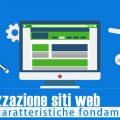 Realizzazione siti web: 50 caratteristiche fondamentali