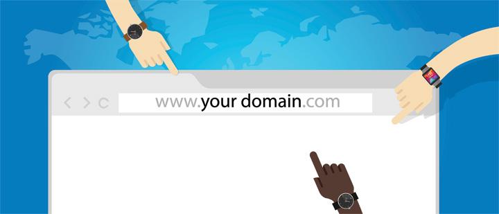 Scegliere il nome del dominio