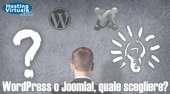 WordPress o Joomla!, quale scegliere?