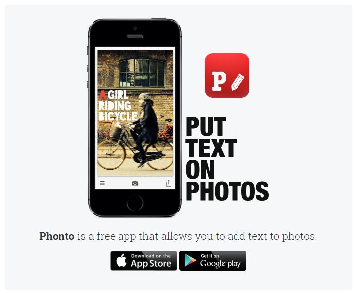 Scrivere sulle foto con Phonto