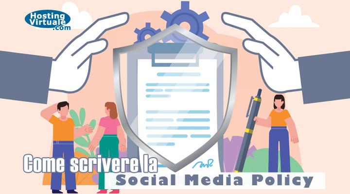 Come scrivere la Social Media Policy