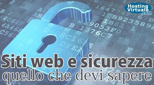 Siti web e sicurezza seconda parte