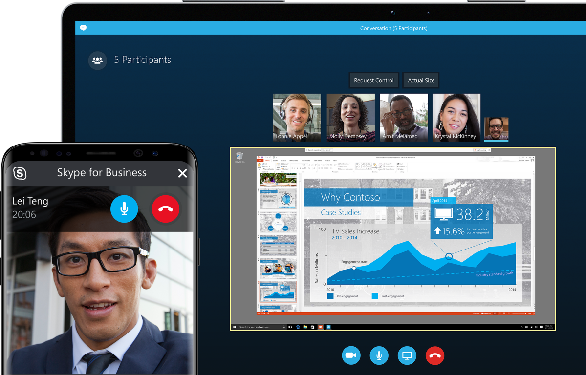 Videoconferenza con Skype