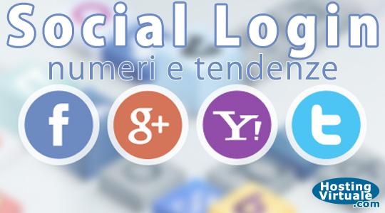 Social Login: numeri e tendenze