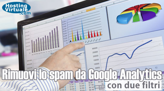 Rimuovi lo spam da Google Analytics con due filtri