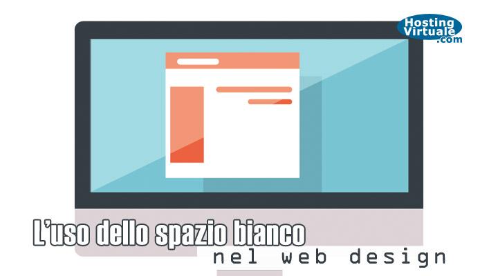 L'uso dello spazio bianco nel web design
