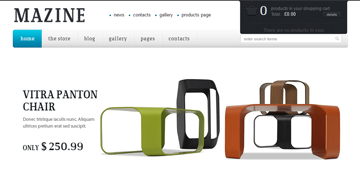 Temi WordPress per eCommerce: Mazine