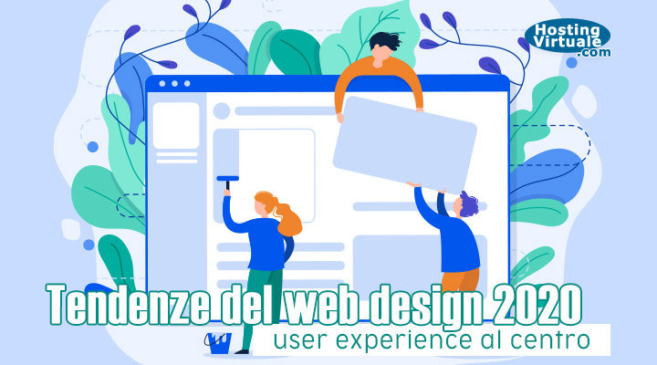 Tendenze del web design 2020: user experience al centro