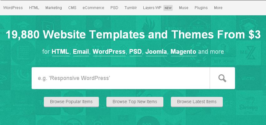 Themeforest: temi per WordPress