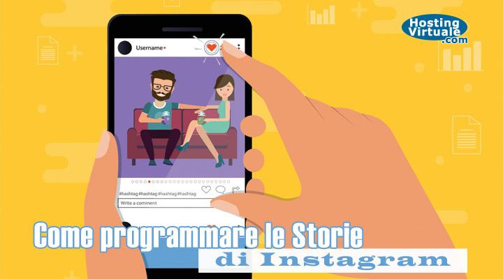 Come programmare le Storie di Instagram