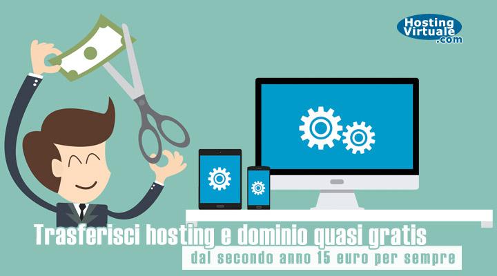 trasferimento hosting gratis