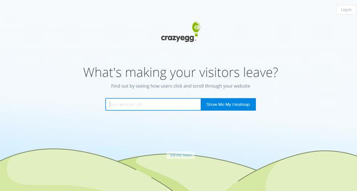 Analisi usabilità con Crazyegg