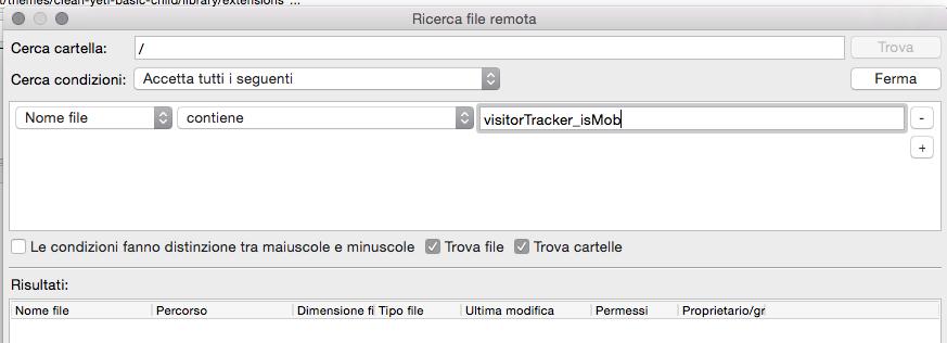 VisitorTracker cercare malware