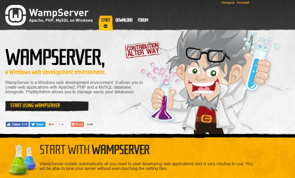 Installazione phpmyadmin con WampServer