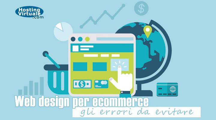 Web design per ecommerce: gli errori da evitare