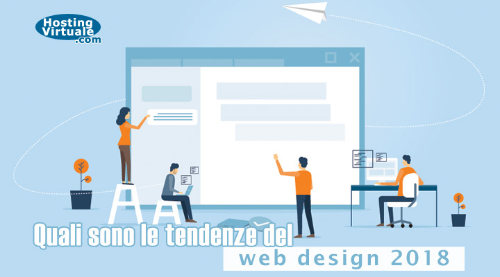 web design tendenze 2018