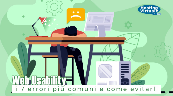 Web Usability: i 7 errori più comuni e come evitarli