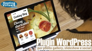 Plugin WordPress per photo gallery, slideshow e social