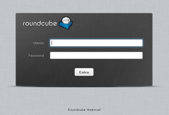 Creare email roundcube