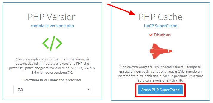 HVCP PHP Options