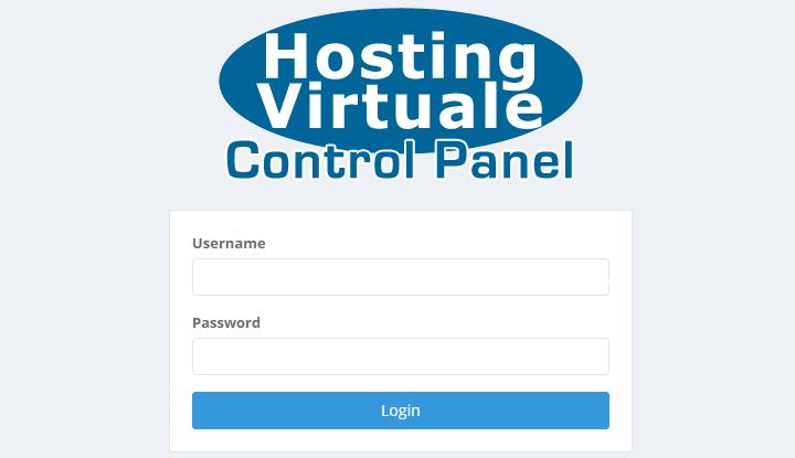 HostingVirtuale Control Panel