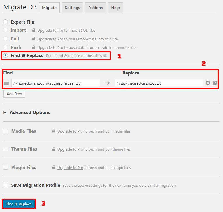 modifica-url-con-wp-migrate-db