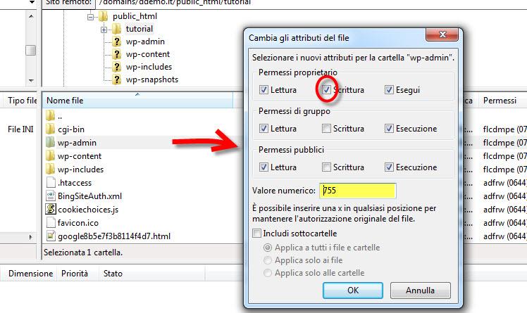 Gestione permessi di file e directory
