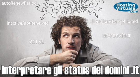 Status dei domini .it