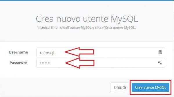 username password usersql